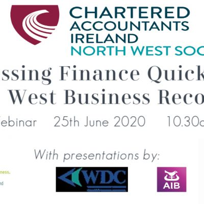 Accessing Finance Quickly and the North West Economy