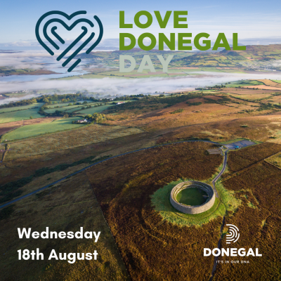 Graphic of Donegal Scenery