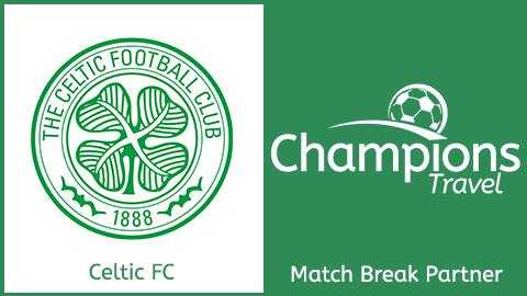 Celtic FC Logo and Champions travel Logo